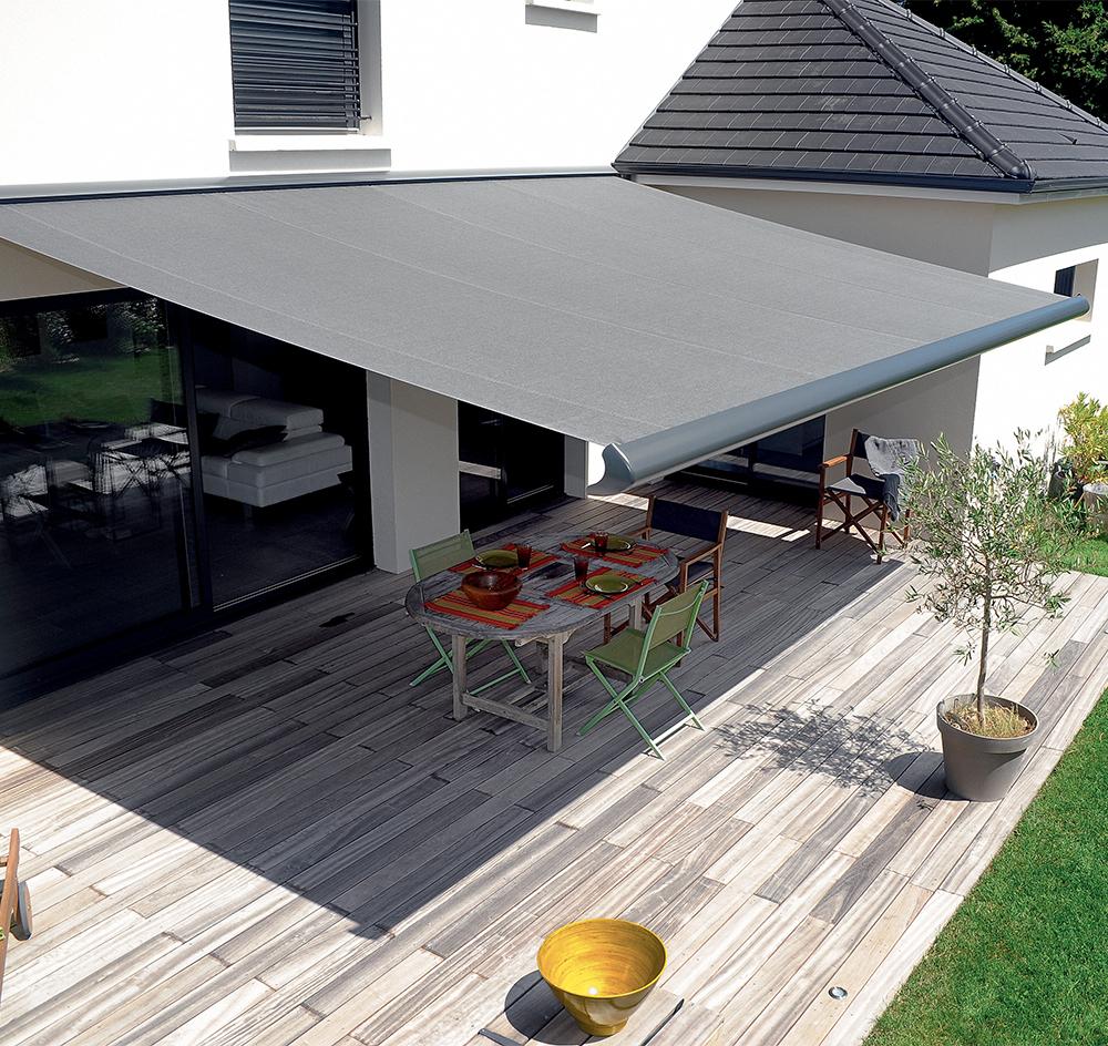 Terrasse avec Store Banne