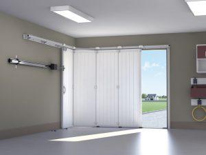 Porte de garage ouverture intérieur