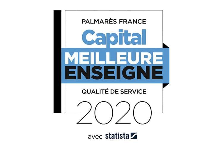 LABEL MEILLEURS ENSEIGNES 2020